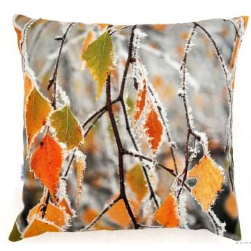 Poduszka liście brzozy