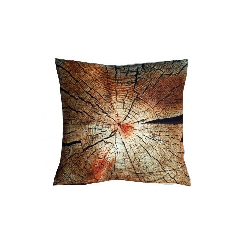 Poduszka z drewnianej chaty