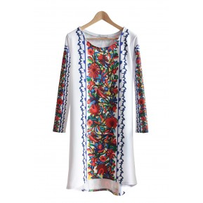 Sukienka dziki folk