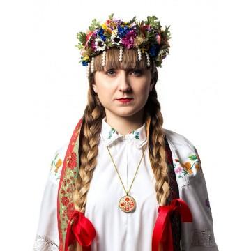 Medalion jesień folk