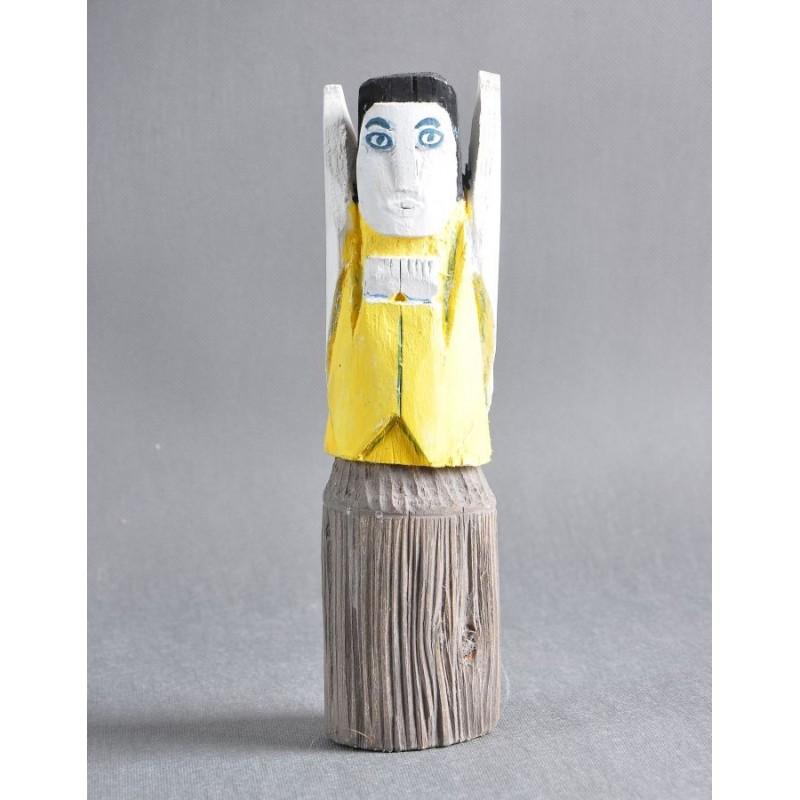 Rzeźba ludowa - Anioł Jan Mika