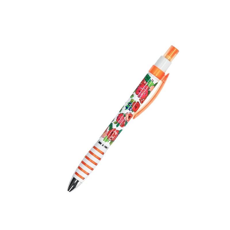 Długopis róże podhale pomarańcz