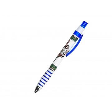 Długopis z parzenicą niebieski