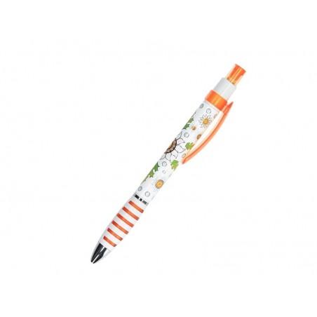 Długopis szarotka pomarańcz