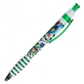 Długopis kaszubski zielony