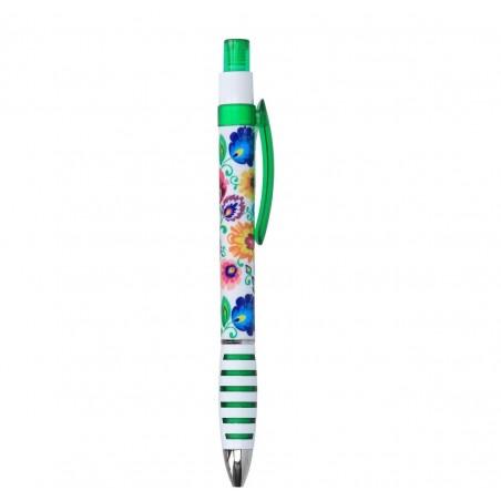 Długopis łowicki zielony