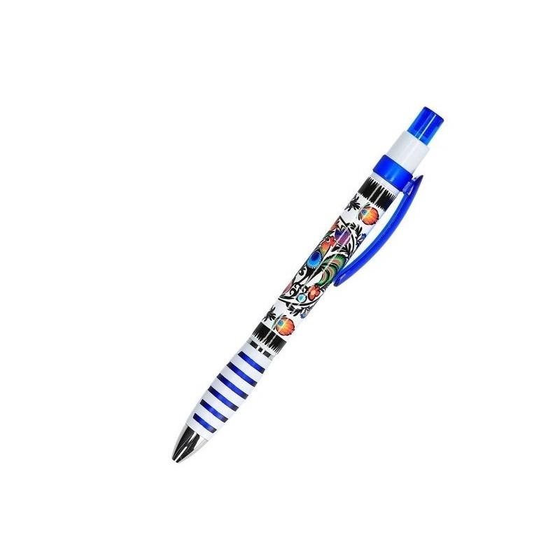 Długopis kurpie niebieski