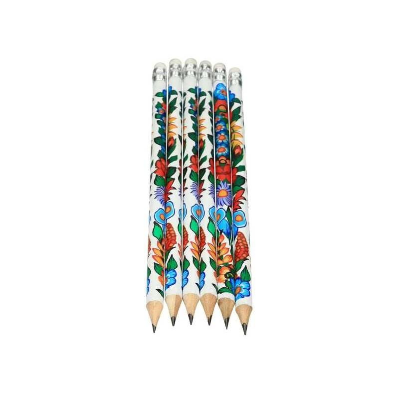 Folk ołówek zalipie