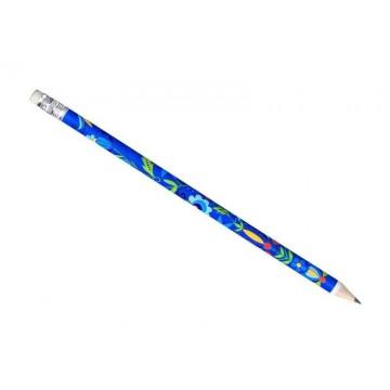 Folk ołówek kaszuby granat