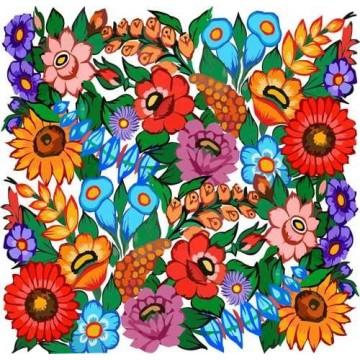Naklejka malowane zalipie