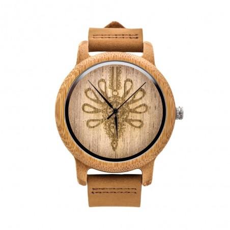 Folk zegarek parzenica drewno