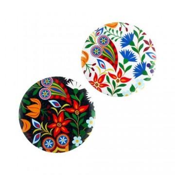 Lusterko podhale kwiaty kolor
