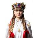 Medalion folk kwiat