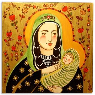 Madonna złota