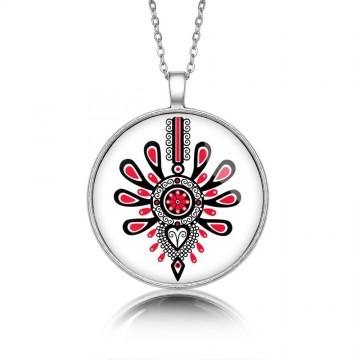 kokofolk - medalion parzenica