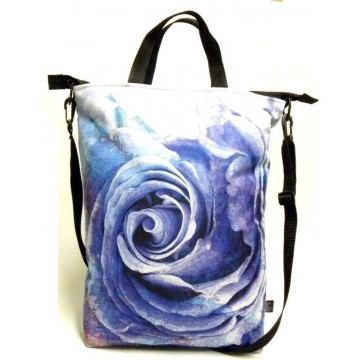 Folk torba róża fiolet