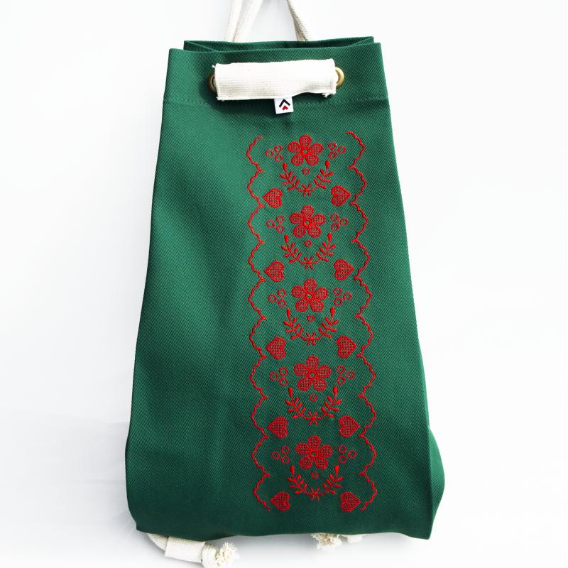 Folk plecak haft nowosądecki