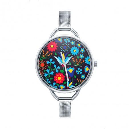 Folk zegarek kaszuby czarny