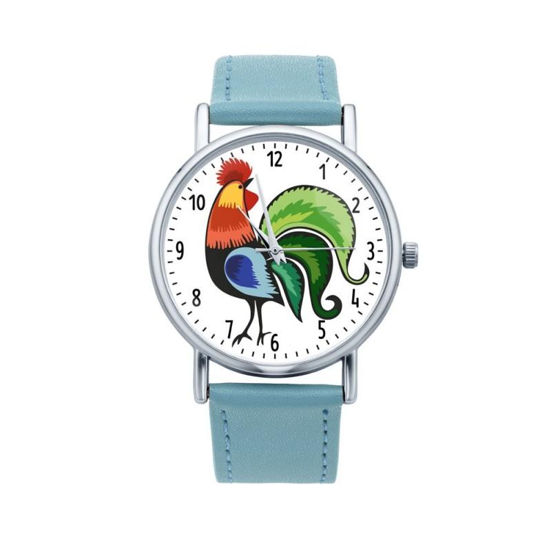 Folk zegarek ludowy kogut
