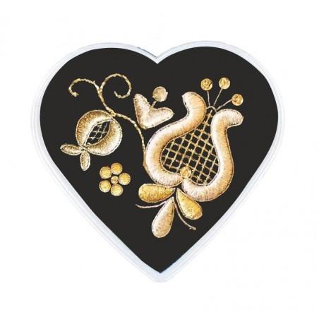 Magnes serce kaszubska złotnica