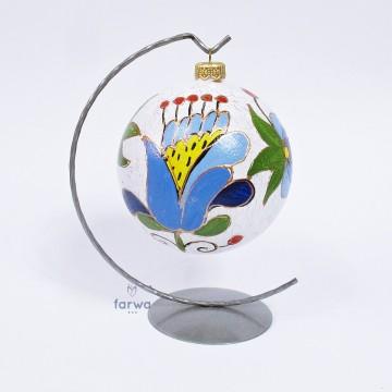 Folkowa bombka kaszuby 12 cm
