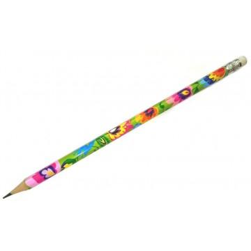 Folk ołówek łowicz czarny