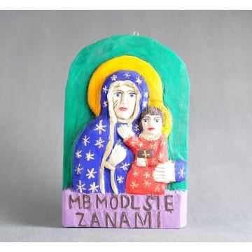 Rzeźba ludowa Madonna