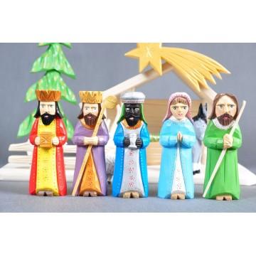 Ludowa szopka Bożonarodzeniowa