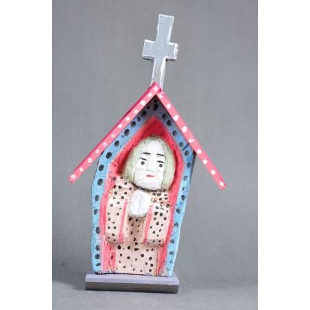 Ludowa kapliczjka Madonna Purta