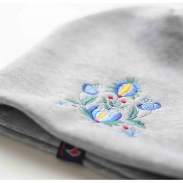 Folk czapka haft kaszubski