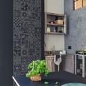 Kokofolk- Naklejka na ścianę folkowa mozaika