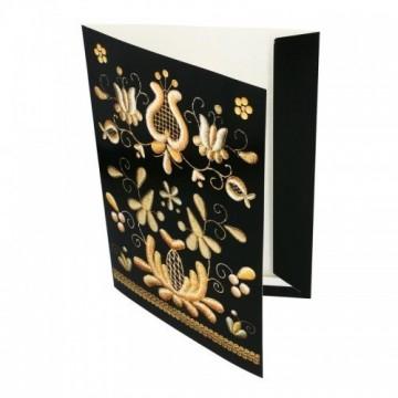 Teczka biurowa wzory kaszubskie złotnica kaszubska
