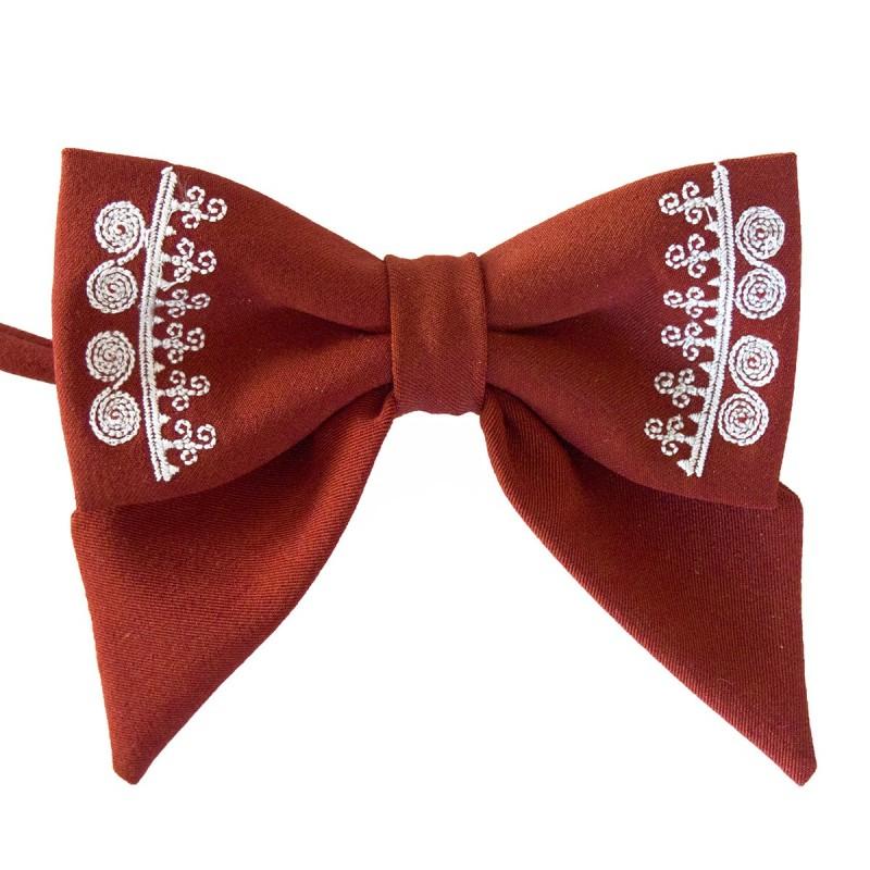 Folkowa mucha haft biłgorajski
