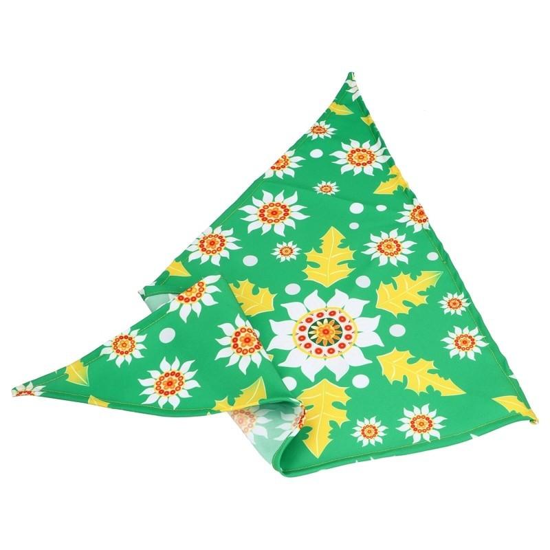Folkowa chusta kwiaty podhale szarotka