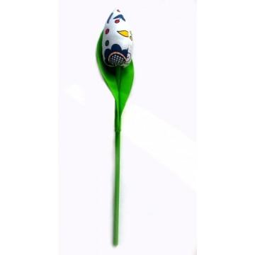 Kaszubski tulipan rękodzieło ludowe