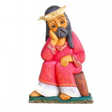 Frasobliwy rzeźba ludowa A. wojtczak