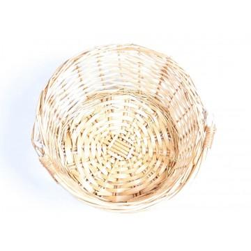 Pleciony koszyk słomiany