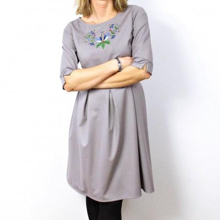 Sukienka kaszubska z haftem klasyczna