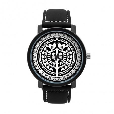 Zegarek męski kurpiowska wycinanka