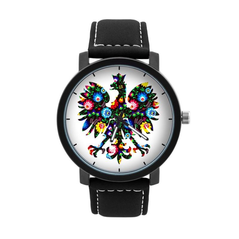Zegarek męski folklor ludowy orzeł