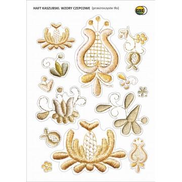 naklejka motyw ludowy kaszubski złotnica