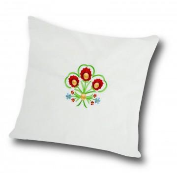 Poduszka z haftem góralskim
