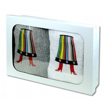 Ręczniki z haftem łowicka...