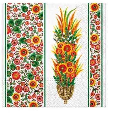 Serwetki ludowe z palmą...